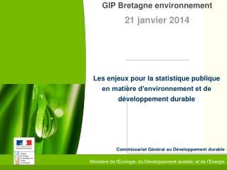 Commissariat Général au Développement durable