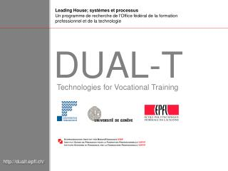 Technologies for Vocational Training