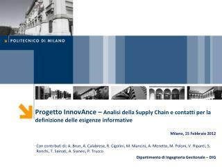 Milano ,  15  Febbraio 2012