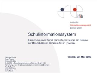 Schulinformationssystem