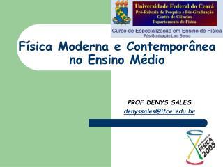 Física Moderna e Contemporânea no Ensino Médio