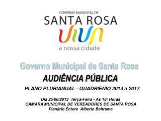 Governo Municipal de Santa Rosa