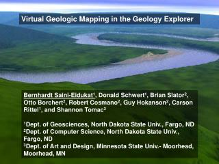 Virtual Geologic Mapping in the Geology Explorer
