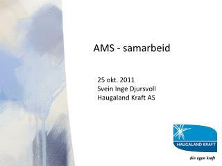 AMS - samarbeid