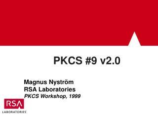 PKCS #9 v2.0