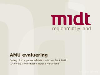 AMU evaluering