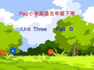 Pep 小学英语五年级下册
