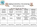CYBERGUARDERIA MENUDITOS Men  Semanal N 1