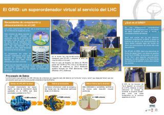 El GRID: un superordenador virtual al servicio del LHC