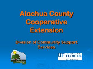 Alachua County Cooperative  Extension