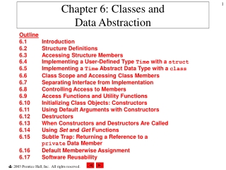 2. Intro. To Data Structures  ADTs   C-Style Types