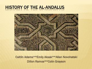 History of the Al- Andalus