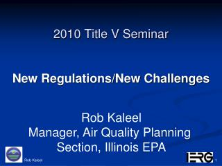 2010 Title V Seminar
