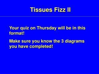 Tissues Fizz II