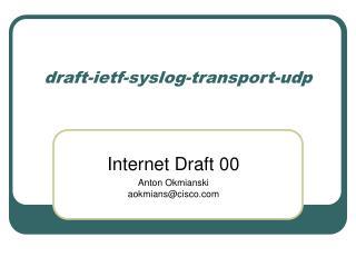 draft-ietf-syslog-transport-udp
