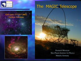 The  MAGIC Telescope