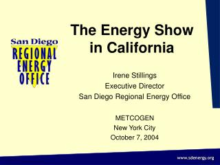 The Energy Show  in California
