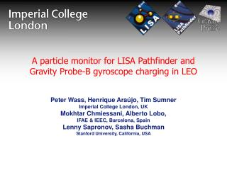 A particle monitor for LISA Pathfinder and Gravity Probe-B gyroscope charging in LEO