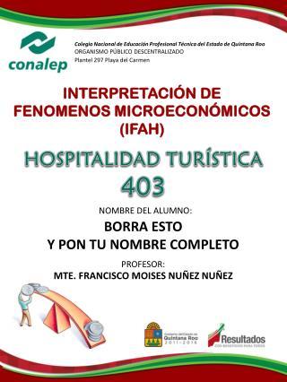 Col egio Nacional de Educación Profesional Técnica del Estado d e Quintana Roo