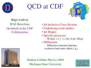 QCD at CDF