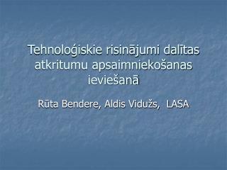 Tehnoloģiskie risinājumi dalītas atkritumu apsaimniekošanas ieviešanā