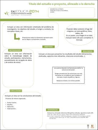 NOMBRE DEL AUTOR(ES) I nstitución a la  que  se  está afiliado ,  email(s)