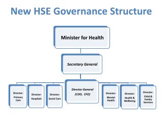 New HSE Governance Structure