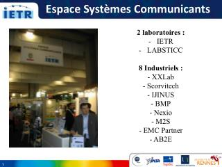 Espace Systèmes Communicants