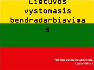 Lietuvos vystomasis bendradarbiavimas