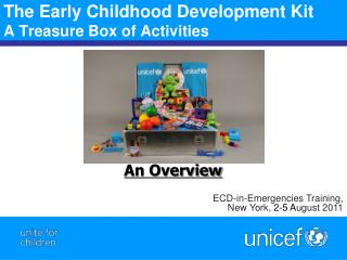 The Early Childhood Development Kit  A Treasure Box of Activities