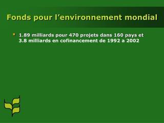Fonds pour l'environnement mondial