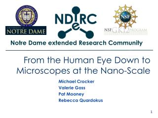 From the Human Eye Down to Microscopes at the Nano-Scale