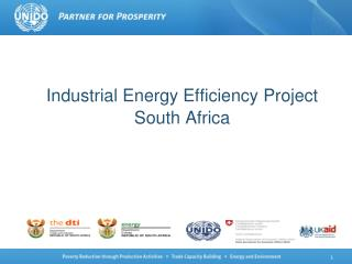 Industrial Energy Efficiency Project South Africa