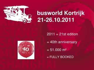 busworld  Kortrijk 21-26.10.2011