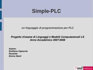 Simple-PLC