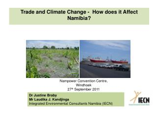 Trade and Climate Change -  How does it Affect Namibia?