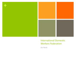 International Domestic Workers Federation