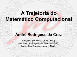 A Trajetória do Matemático Computacional