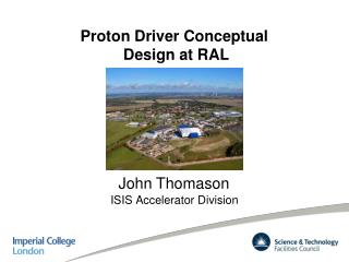 Proton Driver Conceptual  Design at RAL