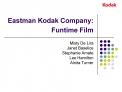 Eastman Kodak Company:  Funtime Film