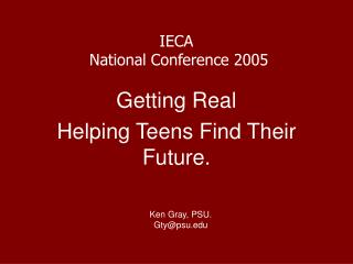 IECA  National Conference 2005