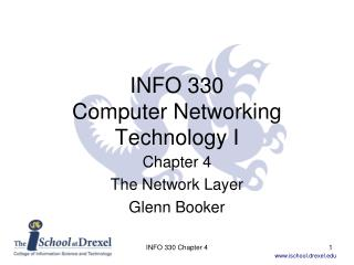 INFO 330 Computer Networking Technology I
