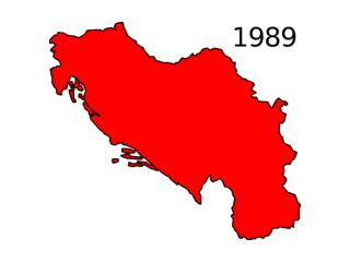 Key to Changing Yugoslavia Map