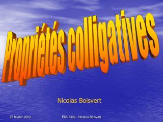 EDU7492 - Nicolas Boisvert