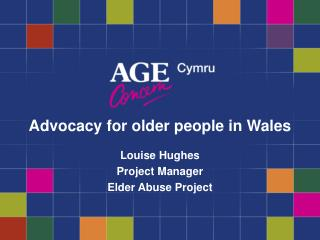 Advocacy for older people in Wales