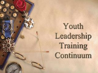 Youth Leadership Training Continuum