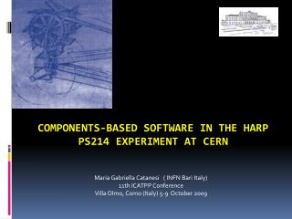 Components‐based software in the HARP PS214 experiment at CERN