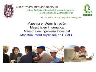 INSTITUTO POLITECNICO NACIONAL Unidad Profesional Interdisciplinaria de Ingeniería