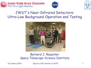 JWST's Near-Infrared Detectors: Ultra-Low Background Operation and Testing