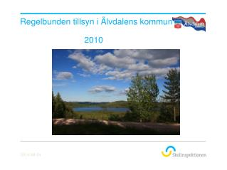 Regelbunden tillsyn i Älvdalens kommun                             2010